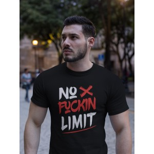 T-shirt No Fuckin Limit