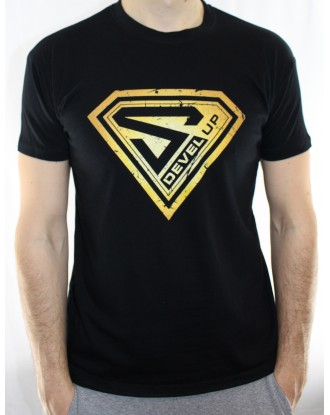 T-shirt Super DEVEL UP Gold
