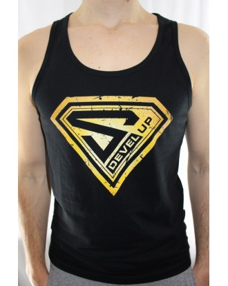 Tank Top Super DEVEL UP Gold