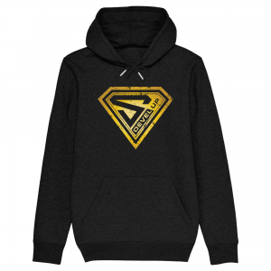 Super DEVEL UP Gold Hoodie