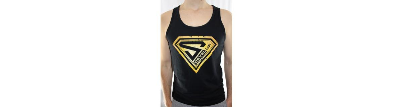 Bodybuilding men's tank top DEVEL UP - Sportswear
